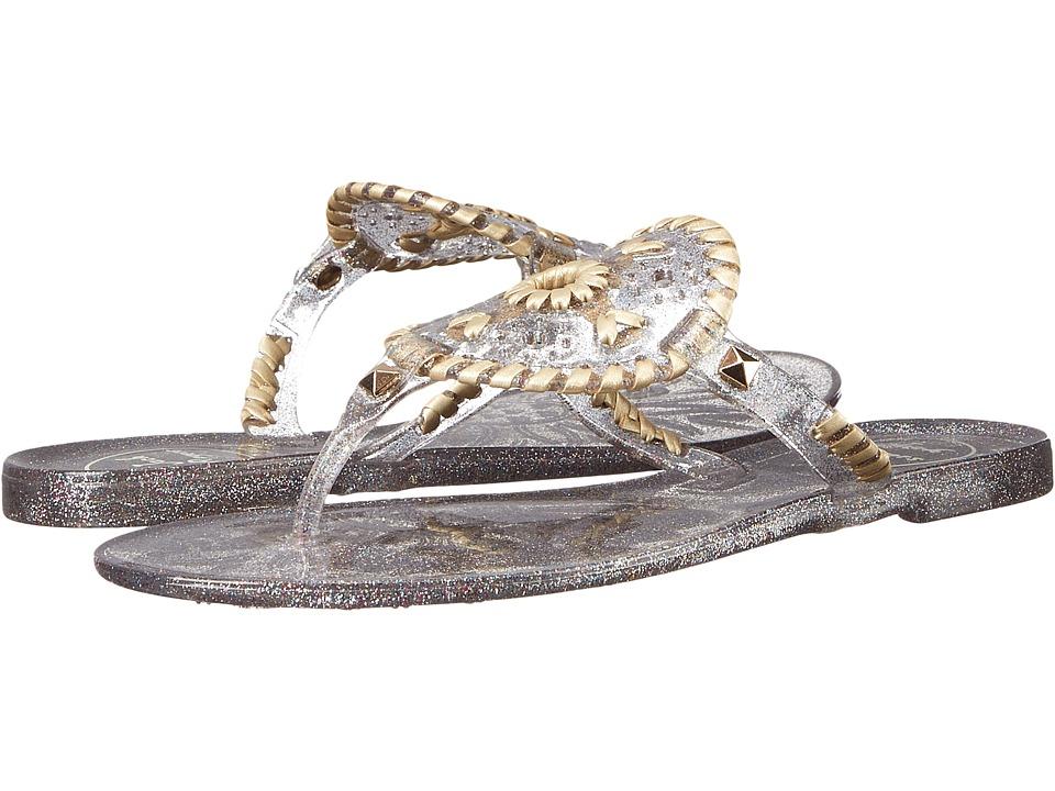 Jack Rogers - Sparkle Georgica Jelly (Multi) Women's Sandals
