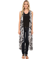 Steve Madden - Muddled Petals Long Vest