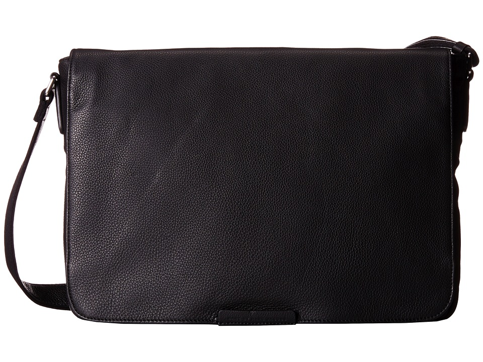 Marc by Marc Jacobs Classic Leather Messenger Black 2 Messenger Bags