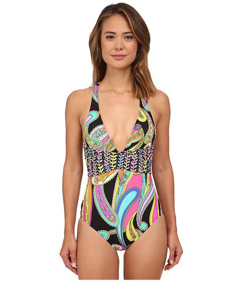 Trina Turk - Garden Paisley One-Piece (Multi) Women's Swimsuits One Piece