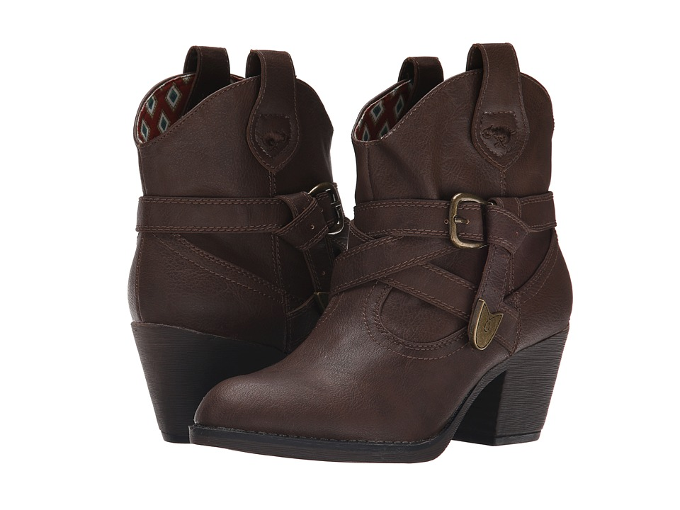 Rocket Dog Satire Brown Sierras Womens Pull on Boots