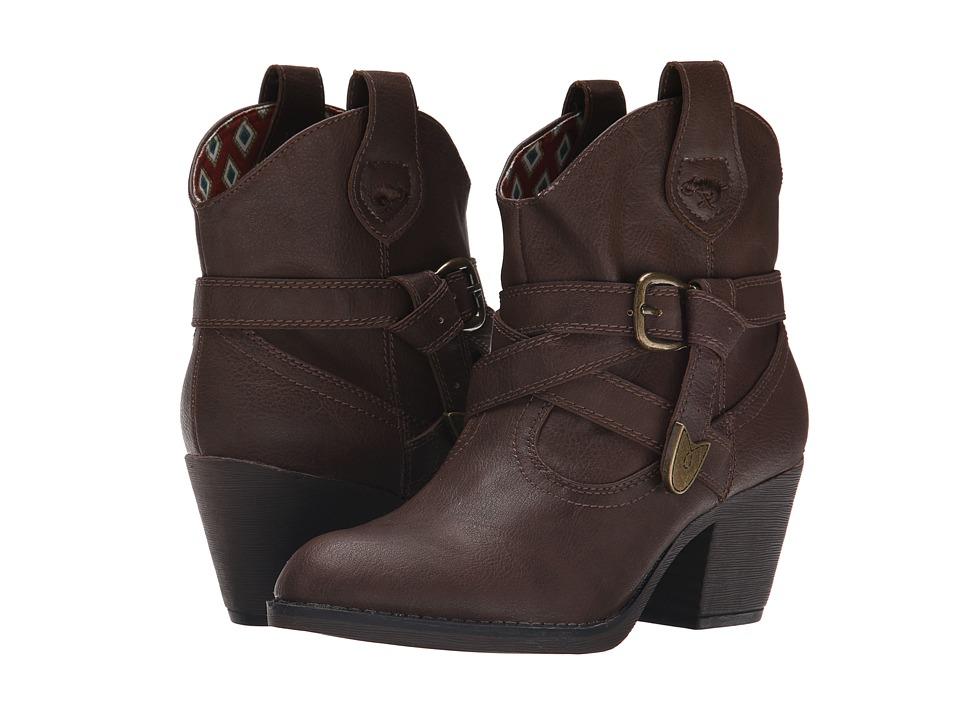 Rocket Dog Satire Brown Sierras Womens Pull on Boots