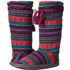 Tall Grommet Tie Boot For Womens