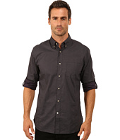 John Varvatos Star U.S.A. - Roll Up Sleeve Shirt w/ Button Down Collar, Single Pocket W387R3B