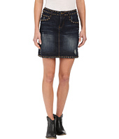 Stetson - Mini Denim Skirt with Studs