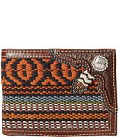 M&F Western - Saddle Blanket Concho Bi-Fold Wallet