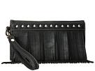 M&F Western Fringe Wristlet Wallet (Black)