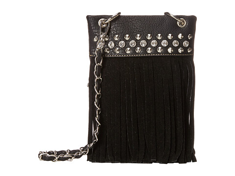 M&F Western Fringe Crossbody - Black