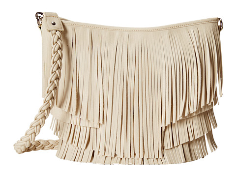 M&F Western Fringe Hobo Bag - Ivory