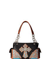 M&F Western - Glitter Cross Satchel Bag