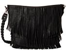 M&F Western Fringe Hobo Bag (Black)