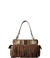 M&F Western - Saddle Blanket Fringe Satchel