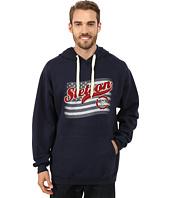 Stetson - Navy Hoodie w/ Flag USA