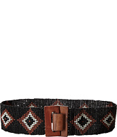M&F Western - Nocona Stretch Beaded Diamond Belt