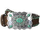 M&F Western Nocona Southwest Turquoise Buckle Belt