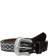 M&F Western - Nocona Embossed Tab Diamond Bead Belt
