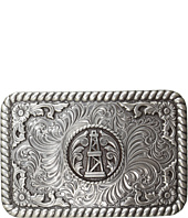M&F Western - Rope Edge Oil Derrick Rectangle Buckle