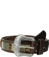 M&F Western - Nocona Tooled Tab Southwest Inlay Belt
