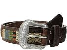 M&F Western Nocona Tooled Tab Southwest Inlay Belt