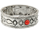 M&F Western Southwest Engraved Stretch Bracelet