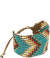 M&F Western - Cheveron Woven Beaded Bracelet