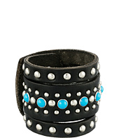 M&F Western - Studded Leather Cuff Bracelet