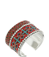 M&F Western - Tribal Bead Rhinestone Cuff Bracelet