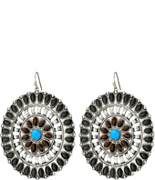 M&F Western - Round Southwest Drop Earrings