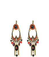 M&F Western - Floral Statement Chandelier Earrings