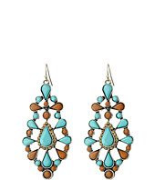 M&F Western - Ornate Chandelier Earrings
