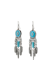M&F Western - Southwest Drop Feather Earrings