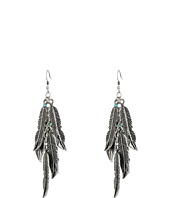 M&F Western - Feather Dangle Earrings