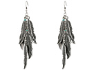 M&F Western Feather Dangle Earrings