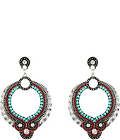 M&F Western - Southwest Beaded Drop Earrings