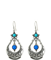 M&F Western - Ornate Stone Chandelier Earrings