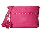 Kipling Camille Crossbody Bag (Pink Flamingo/Pink Weave Trin)