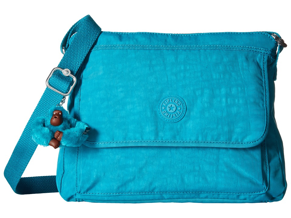 Kipling Aisling Crossbody Bag Cool Blue Handbags