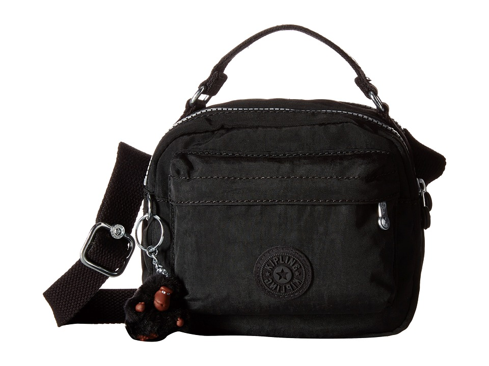 Kipling Artie Top Zip Handbag Black Top Zip Handbags