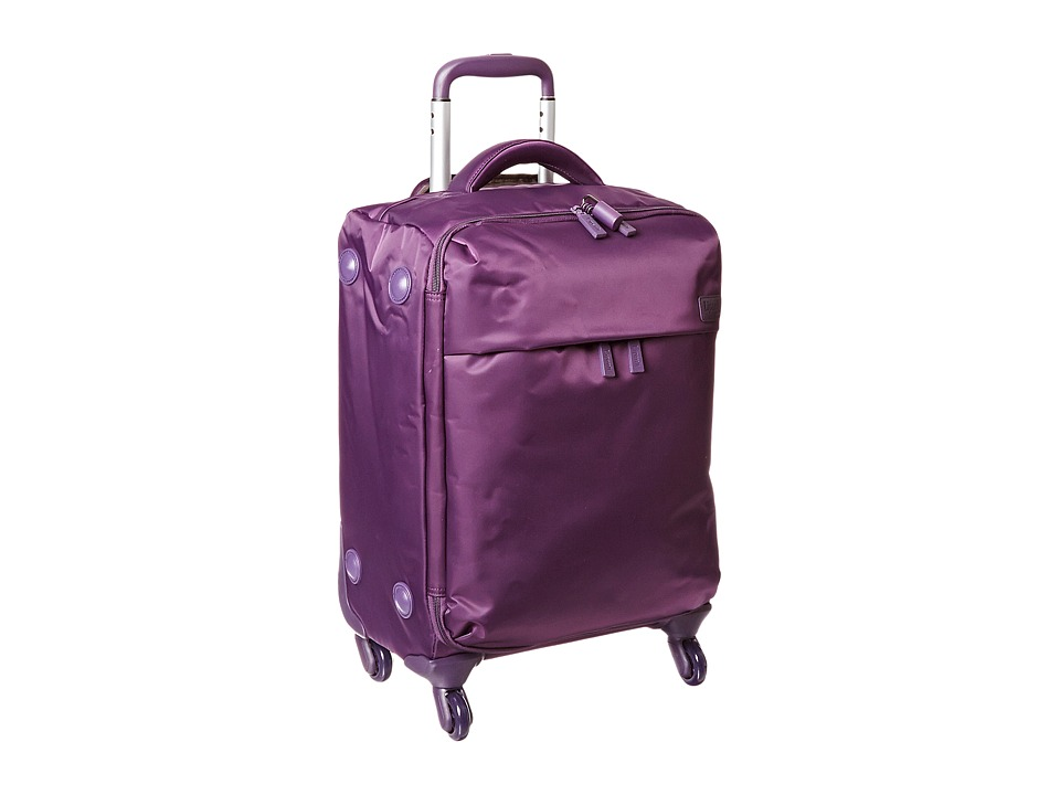 Lipault Paris Original Plume 20 Spinner Carry On (Purple) Carry on Luggage