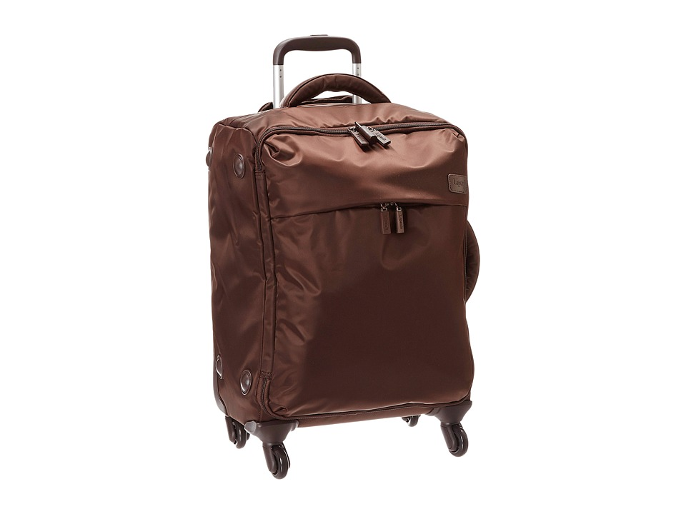 Lipault Paris - Original Plume 22 Spinner Carry On (Espresso) Carry on Luggage