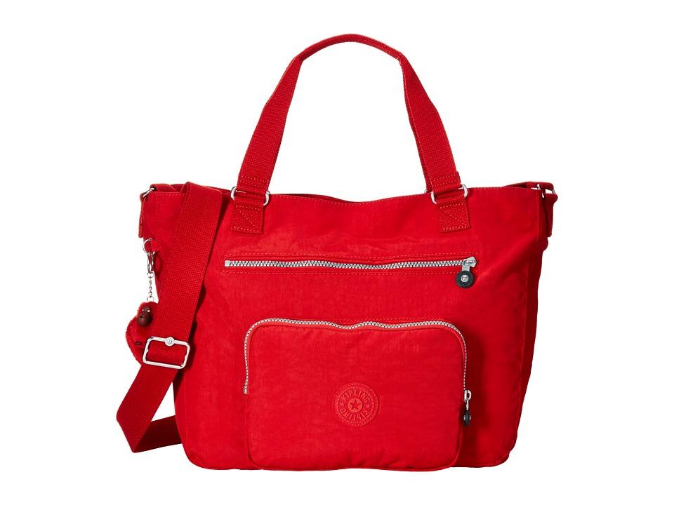 Kipling Maxwell Tote Cherry Tote Handbags