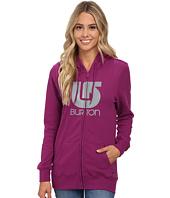 Burton - Her Logo Vertical Full Zip Hoodie