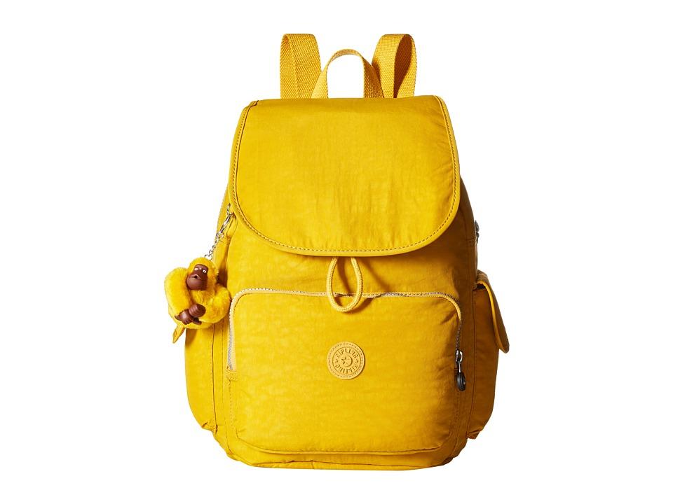 Kipling Ravier Backpack Warm Yellow Backpack Bags