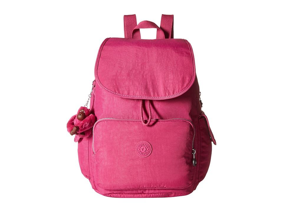 Kipling Ravier Backpack Flamingo Pink Backpack Bags