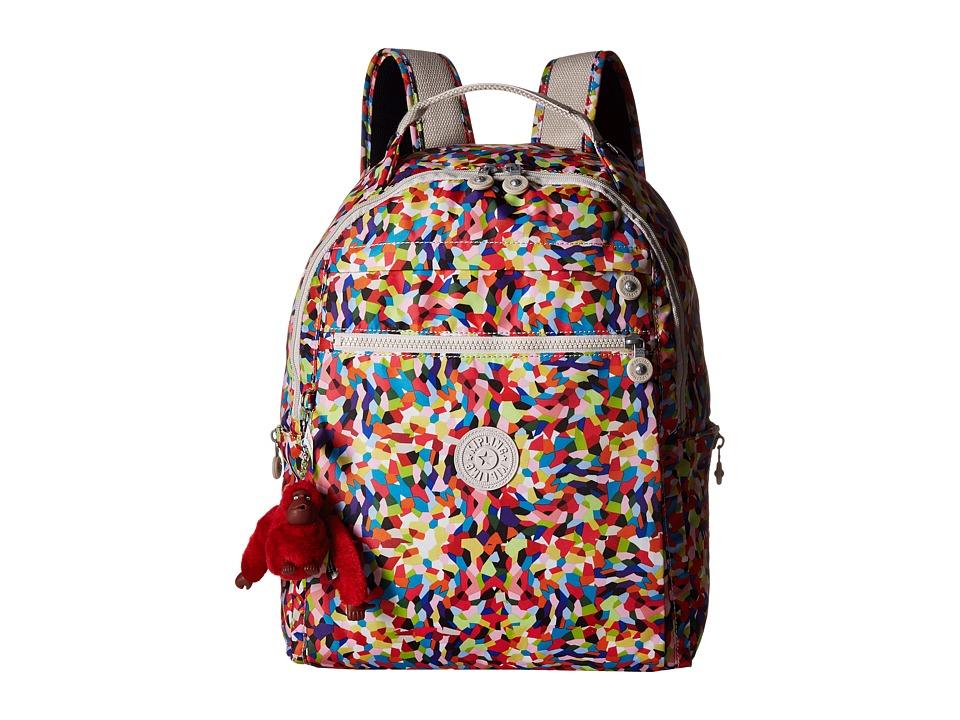 Kipling Ravier Backpack Multi Splatter Backpack Bags