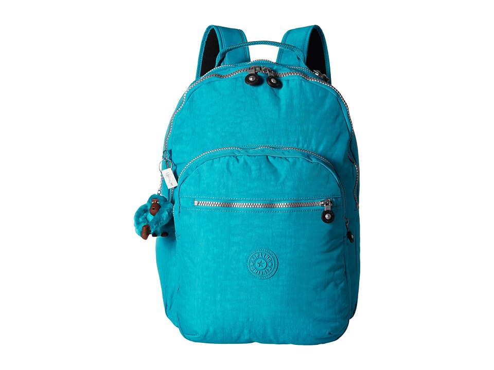 Kipling Seoul Backpack with Laptop Protection Cool Blue Backpack Bags