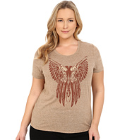 Roper - Plus Size 9917 Light Weight Heather Jersey Top