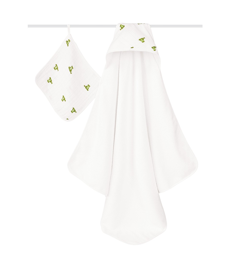 aden anais Muslin Hooded Towel Set Mod About Baby Accessories Travel