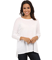 Michael Stars - Luxe Slub 3/4 Sleeve Stepped Hem Top