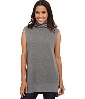 Michael Stars - Cotton Slub Sleeveless Turtleneck Tunic